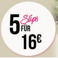 Hunkemöller.at – 2 Slips um nur 6 € statt bis zu 35,98 €!