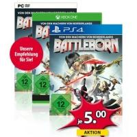 Battleborn für Xbox One / PlayStation 4 / PC um je 5 € bei Müller