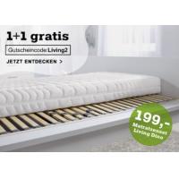 2x Matratzenset (Schaummatratze + Lamellenrost) um 199 € statt 398 €