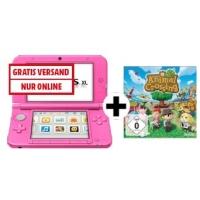 Nintendo UE 3DS XL Pink + Animal Crossing New Leaf um 155 €