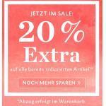 Street One Onlineshop – 20 % Extra-Rabatt auf reduzierte Artikel