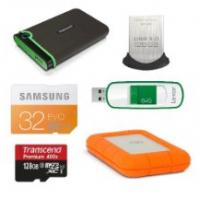 Speicherprodukte mit bis zu 42% Rabatt von Transcend, Samsung u.s.w.!