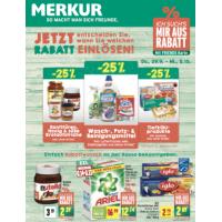 Merkur: -25 % auf 3 Warengruppen (zB.: Tiefkühlprodukte) bis 5.10.