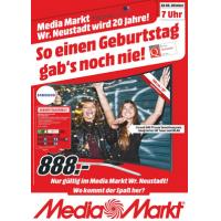 Media Markt Wr. Neustadt – Eröffnungsangebote ab 06. Oktober 2016