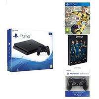 PS4 Slim 1TB + 2 Controller + FIFA 17 (inkl. Steelbook) um nur 359 €
