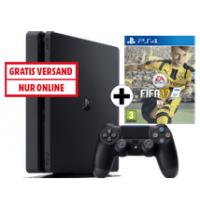 PS4 Slim 1TB + 2 Controller + FIFA 17 inkl. Versand um nur 349 €