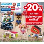 20% Rabatt auf alle Spielwaren in Interspar Filialen (7. & 8.12.)
