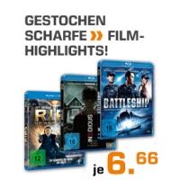 Saturn Film Highlights – Blu Rays um 6,66 € (versandkostenfrei)