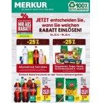 Merkur – 25 % Rabatt auf 2 Warengruppen (zB. alkoholfreie Getränke)