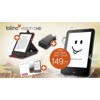 Tolino Vision 3HD Spar-Paket inkl. Versand um 139 € statt 198,98 €