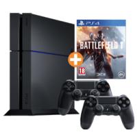 PS4 1TB + 2. Controller + Battlefield 1 um 349 € statt 409 €