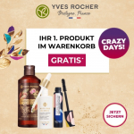 TOP! Yves Rocher – erstes Produkt im Warenkorb gratis (egal wie teuer!)