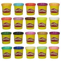 Hasbro Play-Doh Super Knet-Farbenset (20er Pack) um 9,99€ statt 14,98€