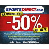 WAHNSINN! 50 % Rabatt auf ALLES bei Sports Direct – nur am 3.11.