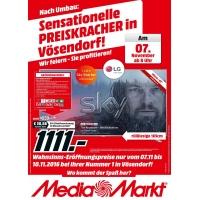 Media Markt Vösendorf / SCS Neueröffnungsangebote ab 7.11.2016