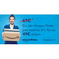 Amazon Prime Erhöhung von 49 € auf 69 € – ab 01.02.2017