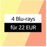 5 Blu-Rays um 30 € bei Amazon (1.000 Filme zur Auswahl)