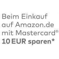 TOP! 10€ Amazon Gutschein GRATIS für Mastercard-Kunden bei Amazon
