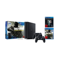 PlayStation 4 1TB slim + Call of Duty: Infinite Warfare + 2. Controller + Dishonored 2 inkl. Versand um 329 € statt 476,83 €
