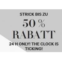 H&M Black Friday Countdown – bis zu 50 % Rabatt auf Strick