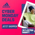 adidas Cyber Woche Sale – bis zu 50% Rabatt + 20% Extra-Rabatt