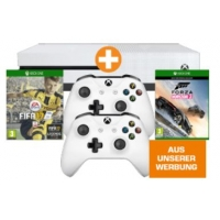 Xbox One S 500GB + 2. Controller + FIFA 17 + Forza Horizon 3 um 299 €