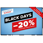 Hervis Black Friday Aktion – 20 % Rabatt auf fast ALLES (ab 23.11.)