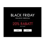 GUESS Black Friday Vorschau – 20% Rabatt auf die gesamte Kollektion