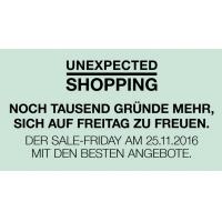 SCS Sale Friday bis zu -60% in verschiedenen Shops