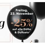 Douglas Black Friday Aktion – 20% Rabatt auf Düfte und Dufsets