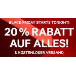 H&M Black Friday – 20% Rabatt auf ALLES + gratis Versand