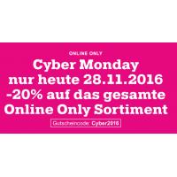Mömax Cyber Monday Angebot – 20 % Rabatt auf Online Only Produkte