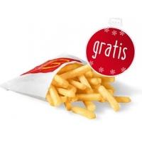 GRATIS kleine Pommes bei McDonald's für Mitglieder – nur heute