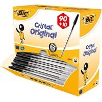 100 Stück BIC Kugelschreiber Cristal (0.4 mm) um 6,44 € statt 19,32 €