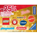 Metro – 25% Rabatt auf Spielwaren (inkl. Werbeware) am 13. & 14.12.