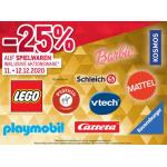 Metro – 25 % Rabatt auf alle Spielwaren (inkl. Werbeware) am 17. & 18.11.