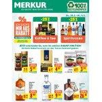 Merkur: 25 % Rabatt auf Spirituosen & Kaffee/Tee – bis 06.03.