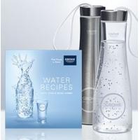 GRATIS Trinkflasche und ein Wasserrezeptbuch bei Grohe