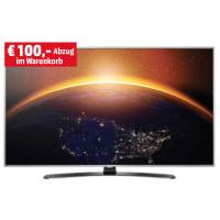 100 € Rabatt auf LG TVs – z.B. LG 49″ UHD LED TV um nur  749 €