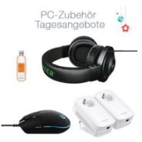 PC Zubehör bis zu -40% – z.B. Lexar 32GB USB 3.0 Stick um nur 8,50 €