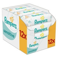 12er Pack Pampers Feuchttücher ab 8,32€ (69 cent per Packung)