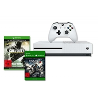 Xbox One S 1TB + Gears of War 4 + Call of Duty: Infinite Warfare – Legacy Edition inkl. Versand um 299 € statt 399,21 €