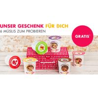 myMuesli – gratis Müsli, Tee & Kaffee ab 10 € und 20% auf Orangensaft