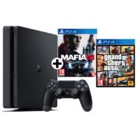 PS4 Konsole Slim 500GB + GTA V + Mafia 3 um 249 € statt 351,21 €