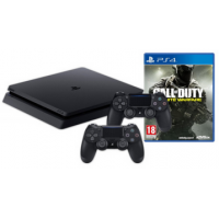 PS4 Slim 1TB + 2 Controller + CoD Infinite Warfare um 274 € statt 402 €!