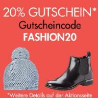 Amazon Fashion: 20% Extra-Rabatt auf über 34.000 Artikel (inkl. Sale)