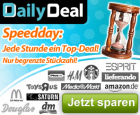 Super Speed Deal Day ab heute (24.8.2011) um 11:00 @DailyDeal.de