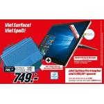 Surface Pro 4 + 150 € Rabatt + Type Cover gratis bei Media Markt