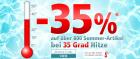 -35% auf über 800 Sommerartikel