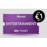 Sky Ticket ab nur 1 € statt 9,99 € pro Monat – monatlich kündbar!